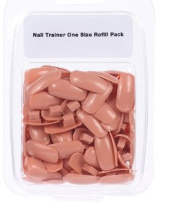 Nail Training Hand 50 Replacement Tips
