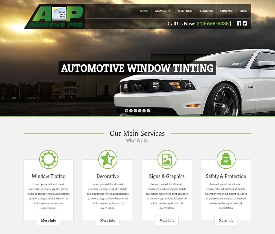 Adhesive Pro Website