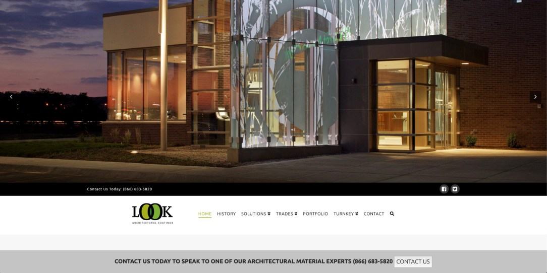 Look Architectural Coatings - Website Design by Eye Magnet Management