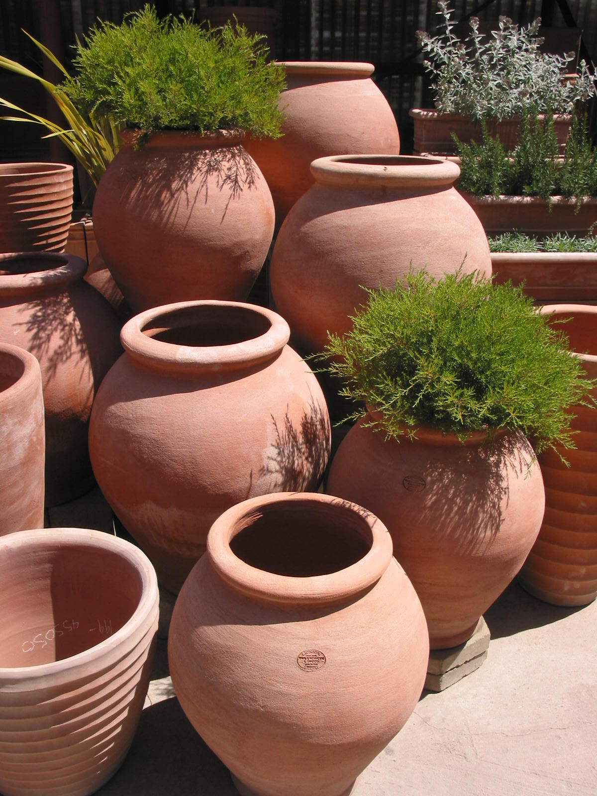 Italian Terracotta Pottery Adds Elegance to Your Outdoor