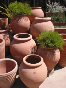 italian terracotta pottery adds