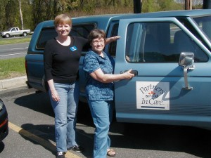 Partners In Care offers rides to the elderly or disabled.