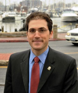 Incoming Annapolis Mayor Josh Cohen (D)