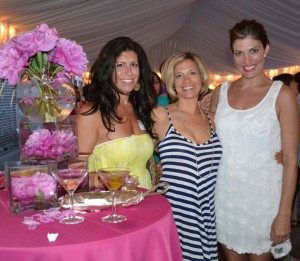 L-R): Christine Di Meo, Molly Walden and Kelly Fisher stop to enjoy the great food and drinks featured at last year's Paca Girlfriends party. Last year's event attracted 430+ area women.