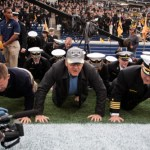 Midshipmen Handle Hoosiers 31-30 (PHOTOS)