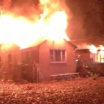 Harwood Fire Destroys Home
