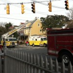 Annapolis House Fire In Historic District
