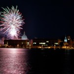 Fireworks Explode Over USNA To Celebrate 1812 Exhibit