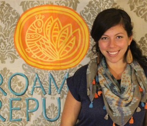 Reed Gallant won $10,000, a new Scion, and year of mentoring to launch her new business, Roaming Republic.