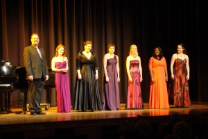 The 2012 Annapolis Opera Vocal Competition Finalists (Photo Credit: Bud Johnson)