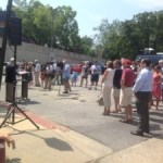 Coalition Draws Crowd Downtown To Oppose City Dock Re-Zoning