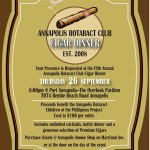 Annapolis Rotaract Cigar Dinner