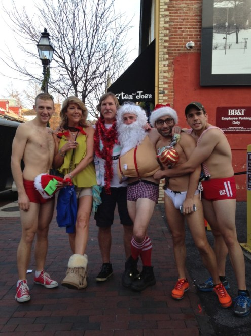 Santa Speedo Run 2013 12
