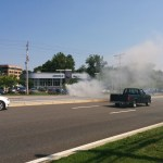 Robbery leads to police chase which leads to car fire in Annapolis