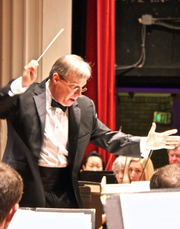 J.Ernest Green conducts the Annapolis Chorale. (credit:  Donna Cole  Annapolis Creative)