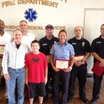 Son awarded Gift of Life Award for actions to save father's life