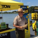 Katcef Brothers and Sea-Tow provide free life jackets to boaters in need