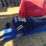 Pushups for lymphoma