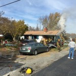 County firefighters rescue Hanover woman from burning home
