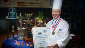 Executive Chef Charles McKnew proudly serving and representing us -30 years and counting.
