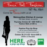 Fierce. Fall. Fashion. from HERE. a pop-up shop