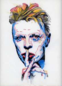 Mark Peria David Bowie Piece