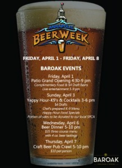 Beer Week Table Tent