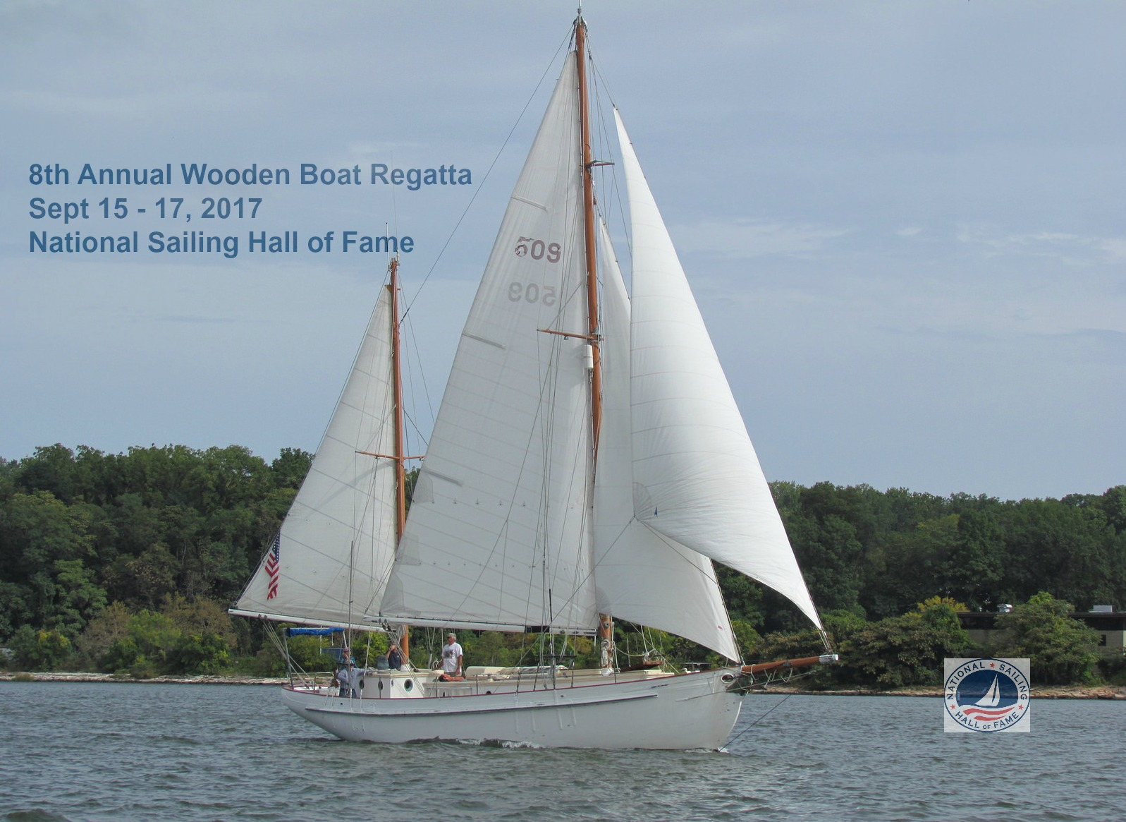 8th Annual Classic Wooden Sailboat Rendezvous Race Eye On Annapolis