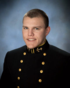 Midshipman 1st Class (senior) Michael Walker