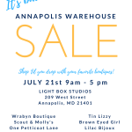 The Annapolis Warehouse Sale