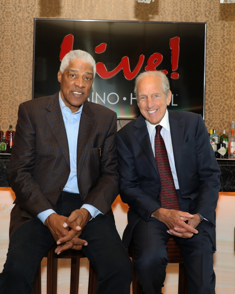 Dr. J and David Cordish