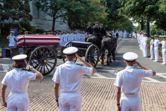 McCain Funeral USNA September 2 2018 -16