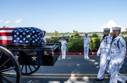McCain Funeral USNA September 2 2018 -19