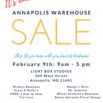 Annapolis Warehouse Sale