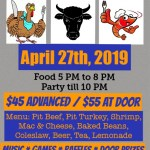 Shrimp & Bull Roast – April 27th