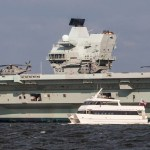 Watermark providing shuttles for the HMS Queen Elizabeth