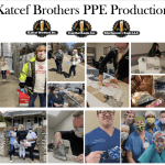 Katcef Brothers smashes goal and produces 7,245 PPE masks for community