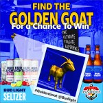Bud Light wants you to find the #GoldenRaven when they take on the Squeelers on Sunday