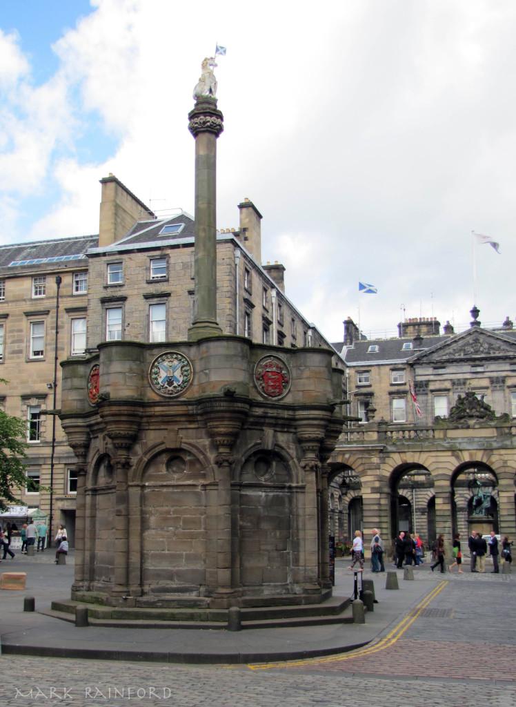 Mercat Cross Eye On Edinburgh