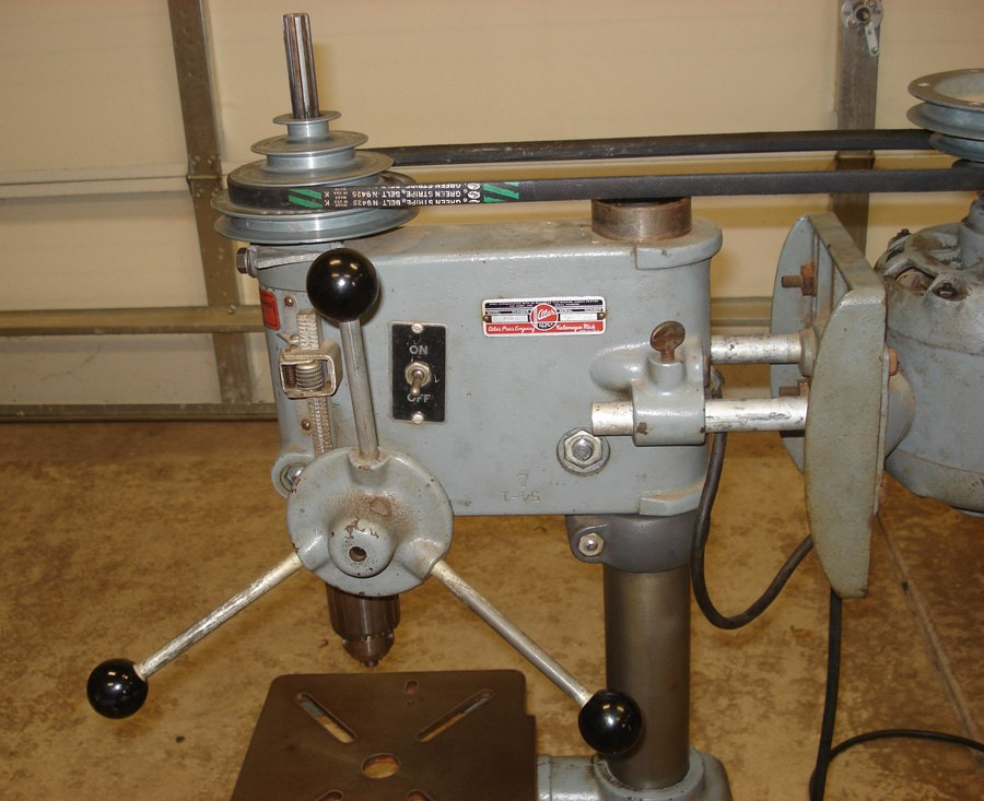 Atlas Benchtop Drill Press