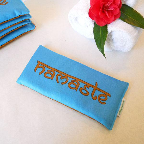 Namaste Eye Pillow with Lavender  Flax Seed