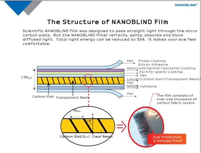 NANOBLIND Structure