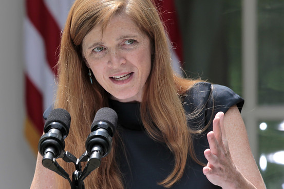 US Ambassador to United Nations Samantha Power Courtesy - of - online.wsj.com