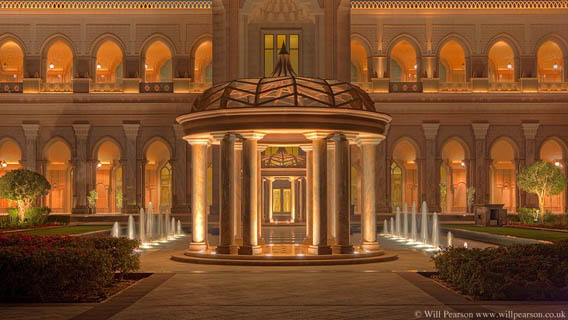 The most expensive hotel in the world  Emirates Palace