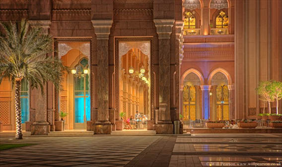 The most expensive hotel in the world  Emirates Palace Abu Dhabi