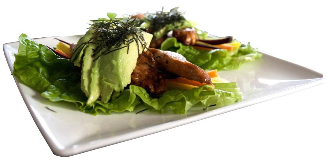 teriyaki chicken lettuce wrap
