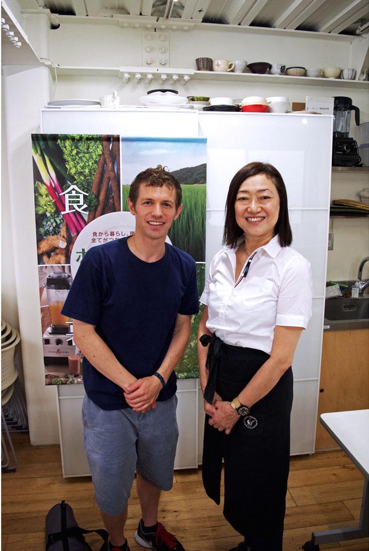 Takako Nakamura and Matt Eisenhauer