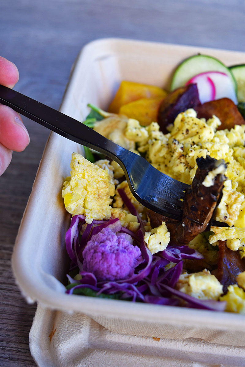 Whole Foods salad bar, healthy breakfast Waikiki