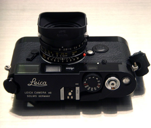 Leica M6 Ttl Lhsa The Black Paint Born To Be Worn Out