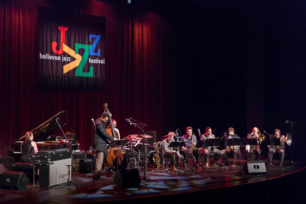 Evan Flory-Barnes at the 2013 Bellevue Jazz Festival